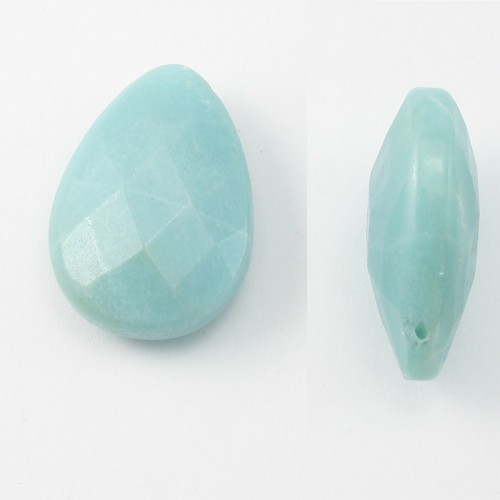 Pendantif Amazonite Goutte 25*35mm
