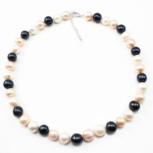 Collier Perle de culture D'eau Douce