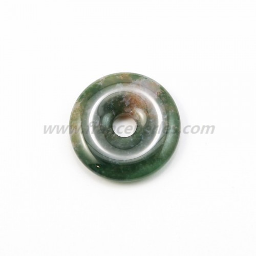 Donut agate mousse 30mm*6mm*4.8mm