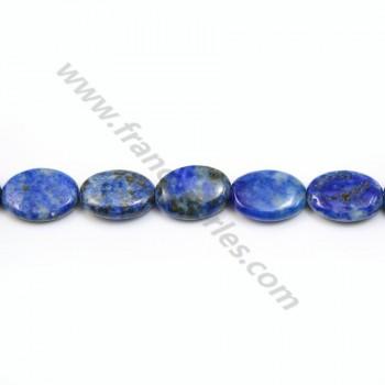 Lapis-Lazuli oval 10*14mm x 40cm