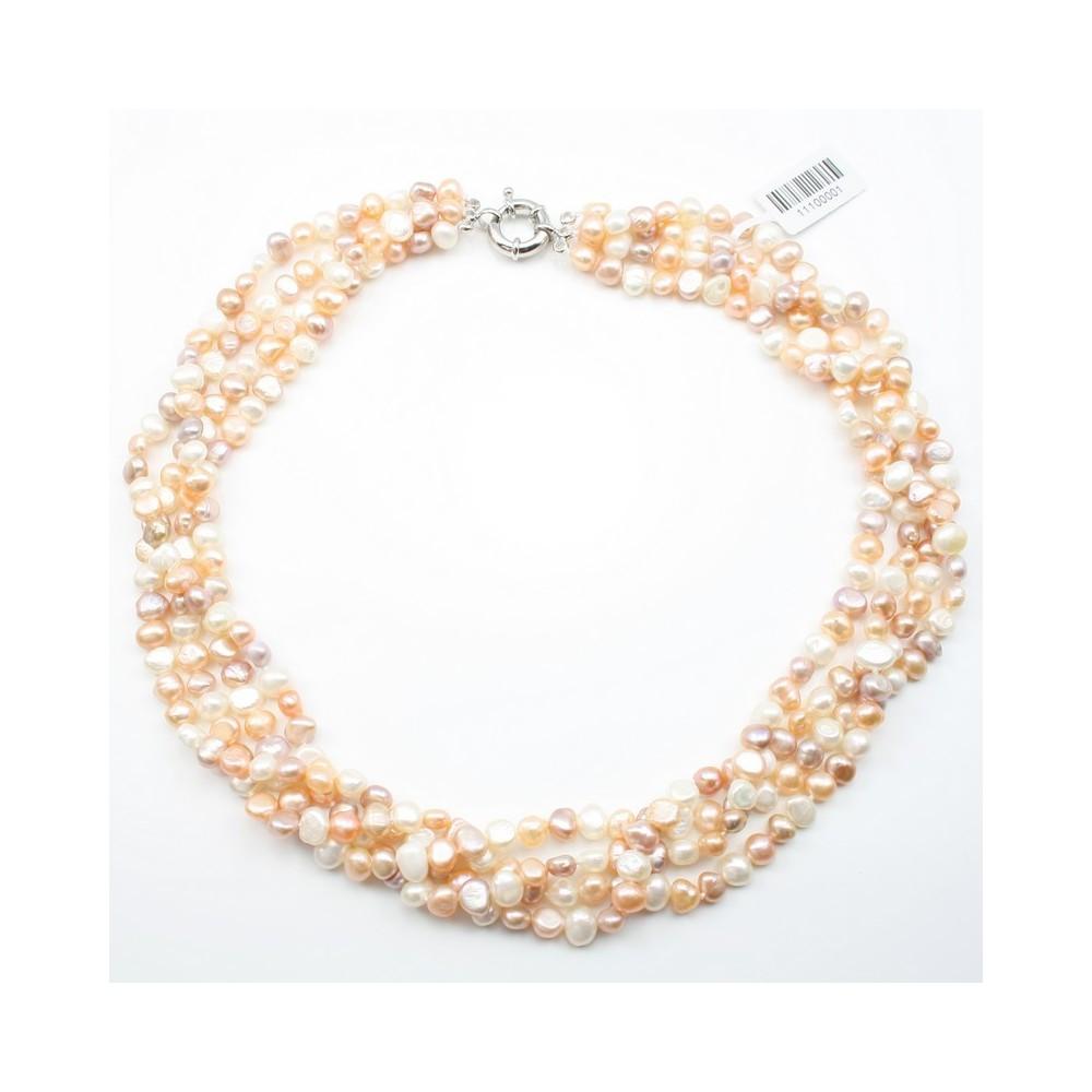collier perle eau douce