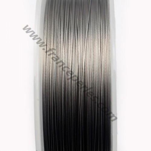 Fil Cable acier  Grise 0.30mm x 2m
