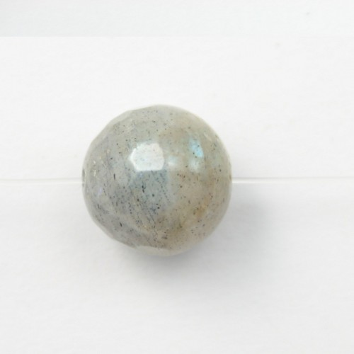 Labradorite Faceted Round 8mm x 4pcs