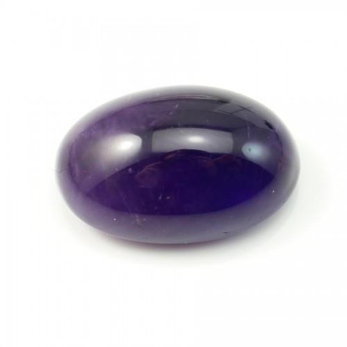 Cabochon amethyste ovale 18*28mm x 1pc