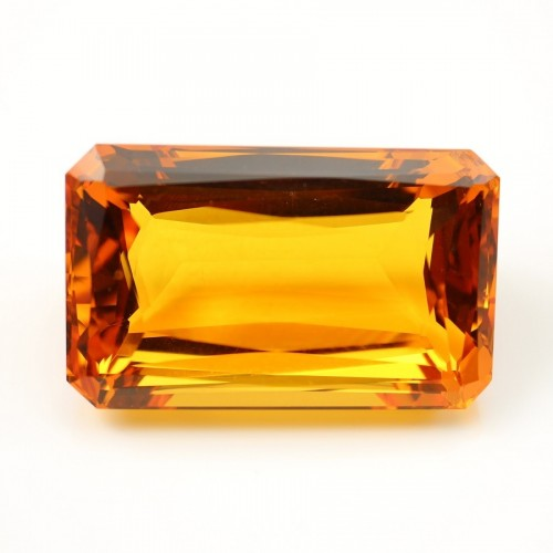 Citrine Rectangle 36 x 28 mm 156.71 CTS