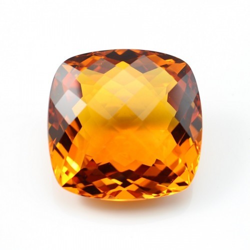 Citrine Cushion 37 x 37 mm 170.45CTS