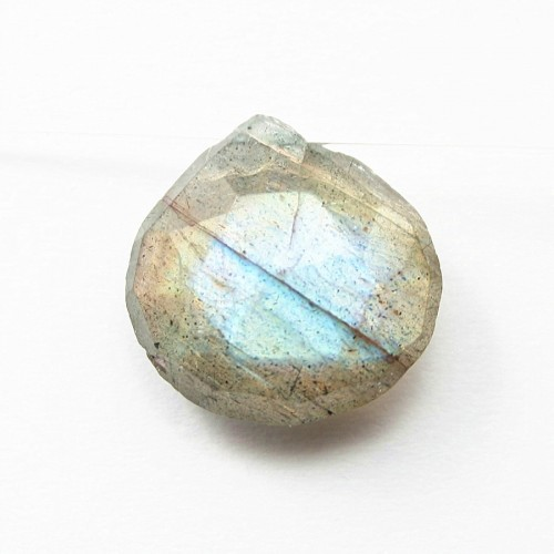 Labradorite faceted Flat drop X 1 pc