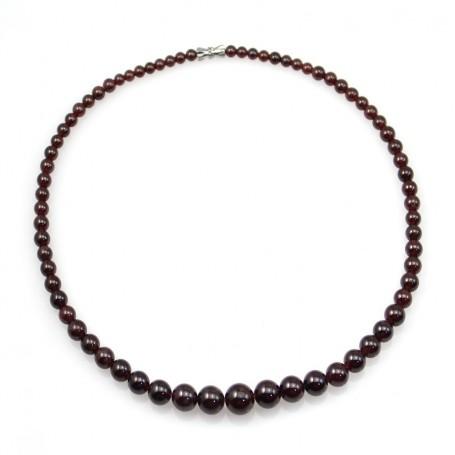 Simple Garnet Necklace