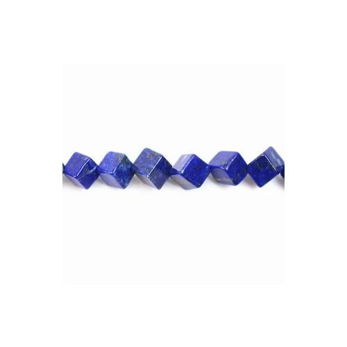 Turquoise cube 5mm x 4pcs