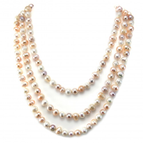 Freshwater pearl necklace  140cm