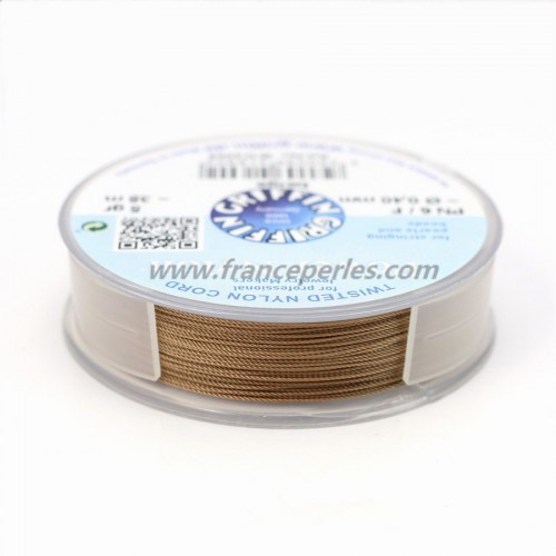 FIL POWER NYLON GRIFFIN BEIGE 0.4MM 35M 5G