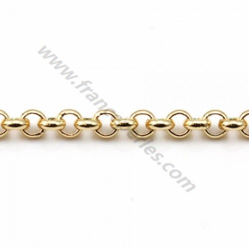 Jaseron chain golden flash 3mm x 1M