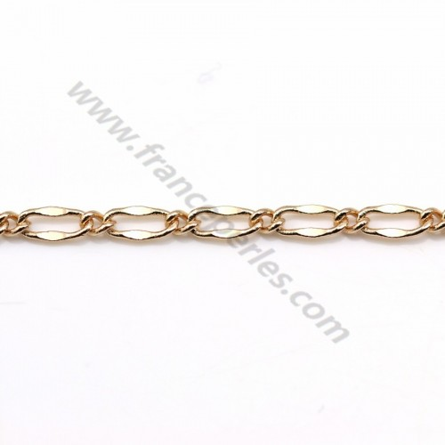Figaro in golden flash chain 2mm x 1M