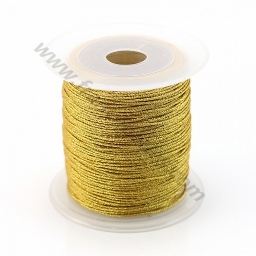 Braided golden thread polyester 0.3mm X 150 m