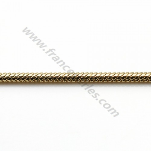 Snake chain golden flash 3mmx 1M