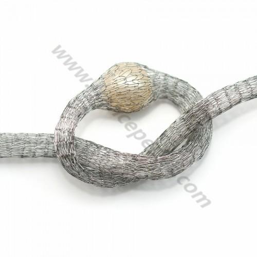 Wire mesh 6mm grey x 91.4cm