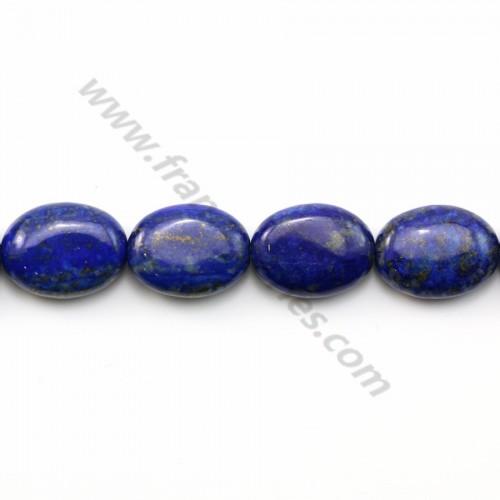 Lapis lazuli ovale 12*16mm x 1pc