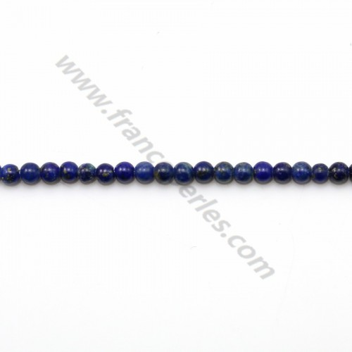 Lapis lazuli round 2mm x 40cm