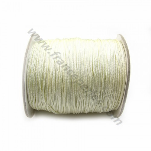 Fil polyester blanc cassé 1mm x 2m