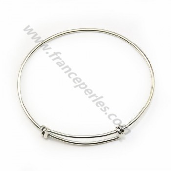 925 sterling silver  60mm flexible x 1pc