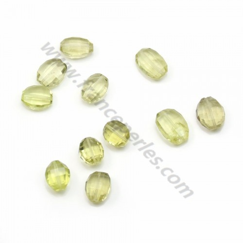 Citrine oval faceted x 1 pc