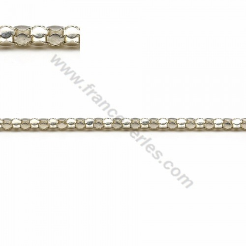 Chain sterling silver snake 2.1mm x 50cm