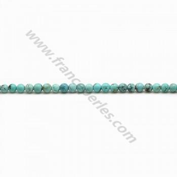 Turquoise Round 5mm x 4pcs