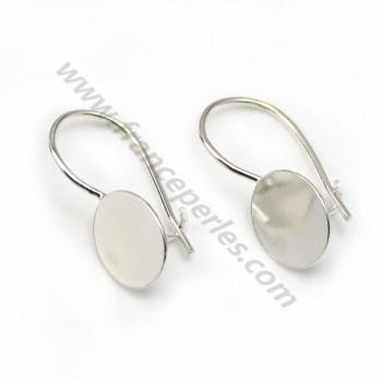 Earrings threadse  for Stick, Sterling Silver 925 , 9.6mm  X 2 pcs