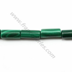 Malachite tube 4*6mm X 40cm