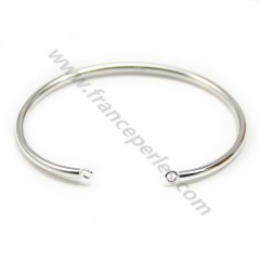 Adjustable bracelet, in 925 silver, 70 * 58mm x 1pc