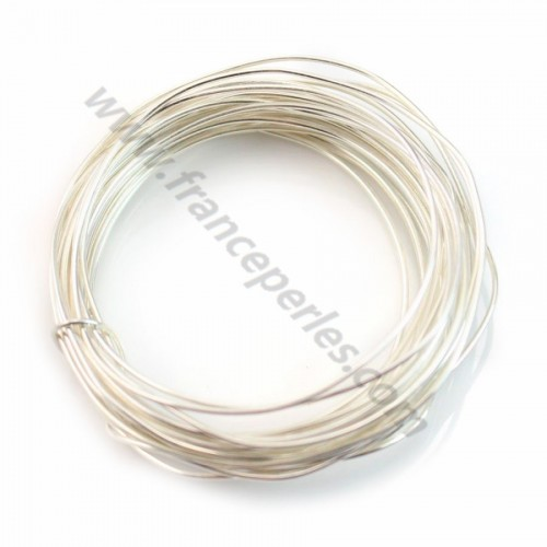 Sterling Silver 925 hard wire 0.7 mm x 1m