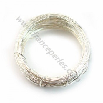 Sterling Silver 925 hard wire 0.5mm x 1m