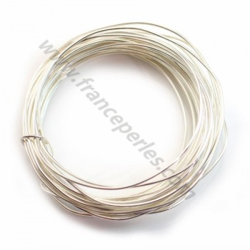 Sterling Silver 925 hard wire 0.8mm x 1m