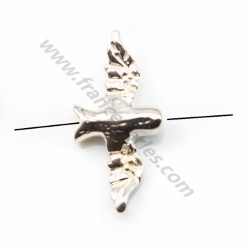 Sterling Silver 925 Swallow 7*14mm  X 2pcs