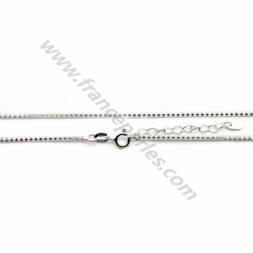 925 sterling silver snake chain 1.3mm x 45cm