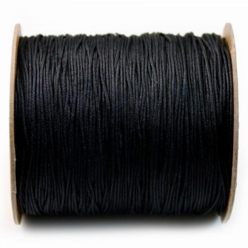 Black thread polyester 1.5mm X 2m