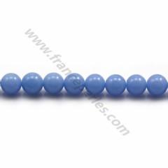Blue Chalcedony Round 6mm x 40cm