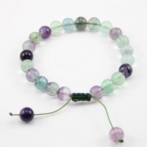 Bracelet Fluorite Round 8 MM