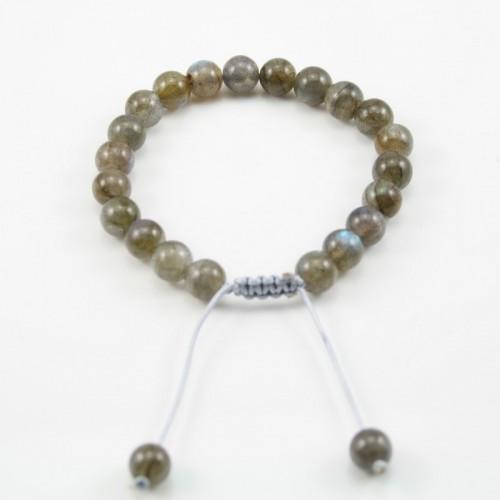 Bracelet Labradorite Ball Round 8 MM