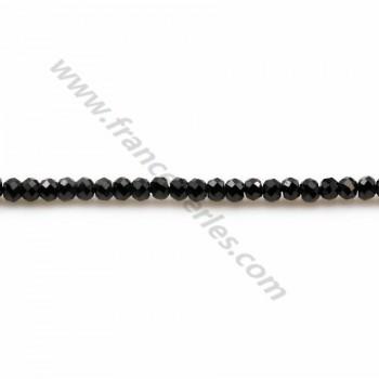 Amethyst Rondelle 4 * 7mm X 8 pcs