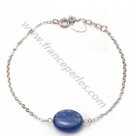 Bracelet silver 925 kyanite