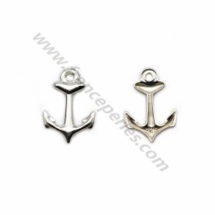 925 sterling silver charm anchor 9*13mm x 2pcs
