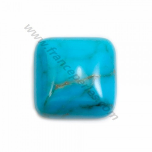 Cabochon Turquoise Square 16mm x 1pc
