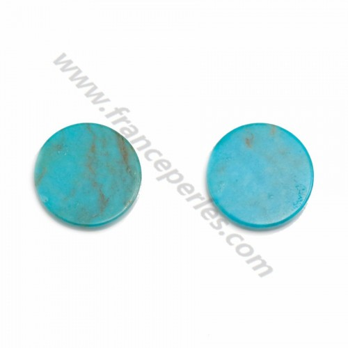 Cabochon Turquoise Oval 10*14mm x 1pc