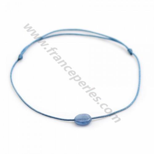 Bracelet Perle de culture d'eau douce blanche ovale x 1pc