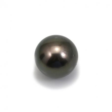 Perle de culture de Tahiti de forme ronde 15.1mm x 1pc