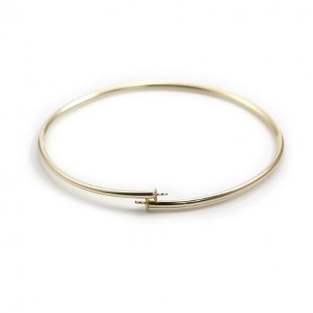 Bracelet jonc en gold filled 65mm*2.2mm x 1pc