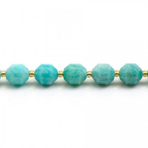 Rose quartz round beads on thread 6mm x 40cm